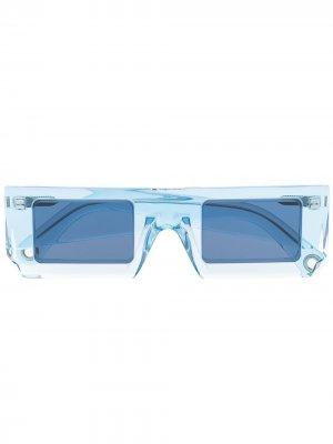 Солнцезащитные очки Les lunettes Soleil Jacquemus. Цвет: синий