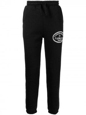 Спортивные брюки Illustrated Commended Fiorucci. Цвет: черный