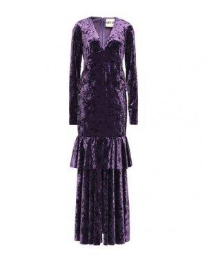 Длинное платье ANIYE BY. Цвет: фиолетовый