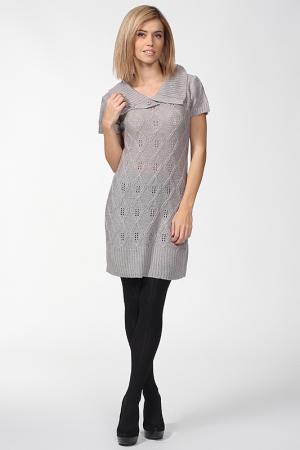 Платье-туника Folia. Цвет: серый