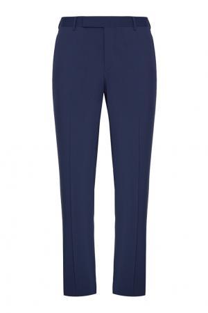 Шерстяной костюм Prada. Цвет: синий
