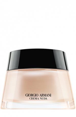 Увлажняющий крем для лица с тональным эффектом, оттенок 4 Giorgio Armani. Цвет: бесцветный