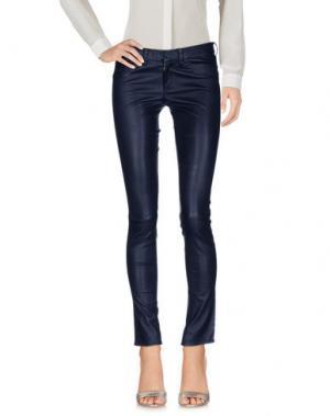 Повседневные брюки ENES. Цвет: темно-синий