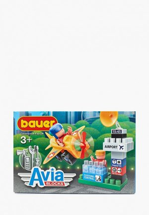 Конструктор Bauer Avia. Цвет: разноцветный