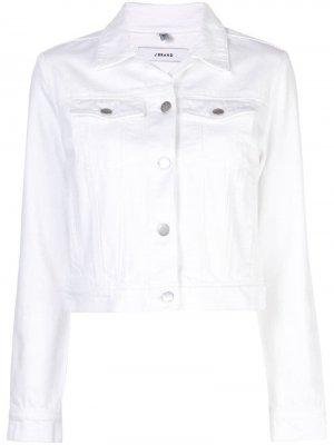 Джинсовая куртка Harlow J Brand. Цвет: белый