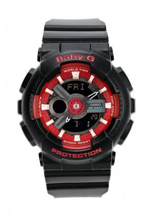 Часы Casio Baby-G BA-110SN-1A. Цвет: черный