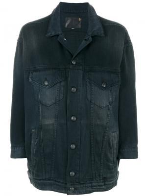 Denim jacket R13. Цвет: чёрный