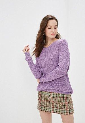 Пуловер Gepur. Цвет: фиолетовый