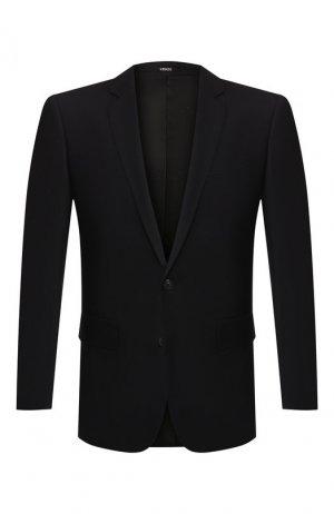 Шерстяной пиджак Kenzo. Цвет: синий