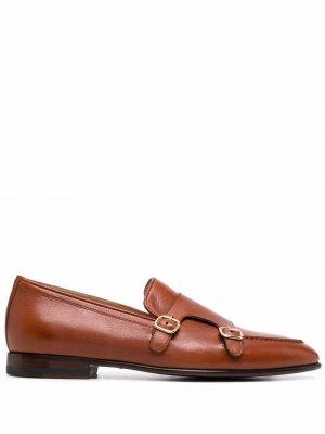 Туфли монки Ernesto Scarosso. Цвет: коричневый