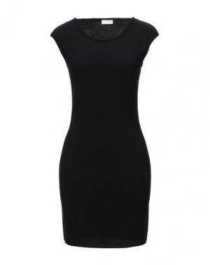 Короткое платье CRUCIANI. Цвет: черный