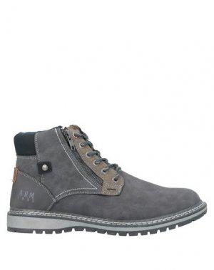 Полусапоги и высокие ботинки ARMATA DI MARE. Цвет: свинцово-серый