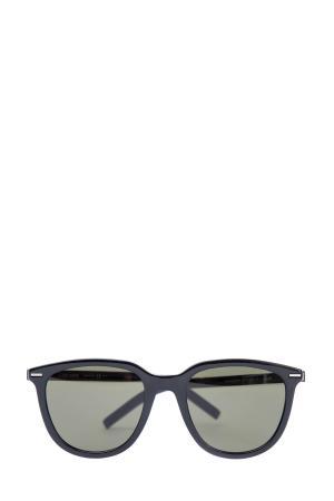 Очки BlackTie255 в классической оправе Wayfarer черного матового цвета DIOR (sunglasses) men. Цвет: none