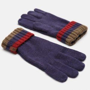Перчатки, варежки, муфты Cable Premium Knit Glove Timberland. Цвет: синий