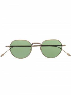 Солнцезащитные очки Fontana Jacques Marie Mage. Цвет: золотистый