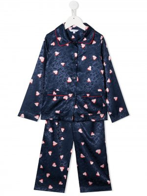 Пижама с принтом The Marc Jacobs Kids. Цвет: синий