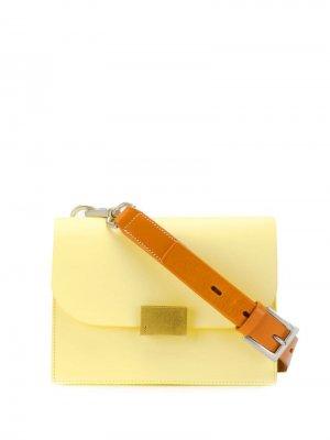 Сумка через плечо Lockie Ally Capellino. Цвет: желтый