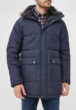 Куртка утепленная Five Seasons FI615EMDDNT4. Цвет: синий