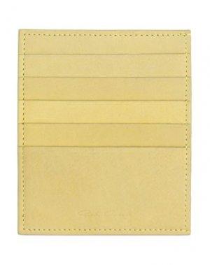 Чехол для документов RICK OWENS. Цвет: желтый