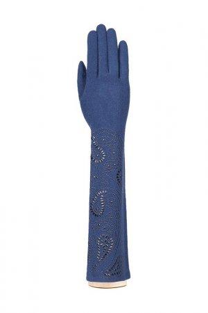 Перчатки Labbra. Цвет: темно-синий, черный
