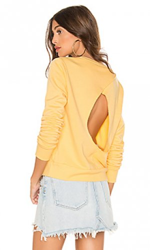 Пуловер suza LA Made. Цвет: желтый
