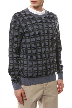 Пуловер Brioni. Цвет: серый