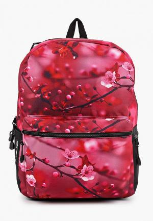Рюкзак Mojo Cherry Blossom. Цвет: бордовый
