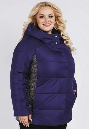 Куртка утепленная Симпатика. Цвет: фиолетовый