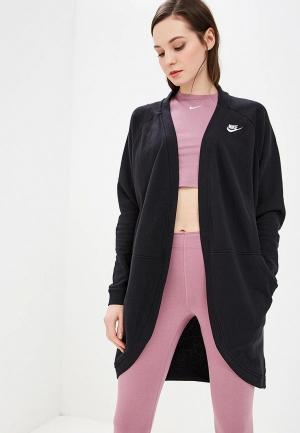 Кардиган Nike SPORTSWEAR CLUB WOMEN?S FRENCH TERRY CARDIGAN. Цвет: черный