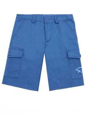 Детские шорты-карго из хлопка PAUL & SHARK