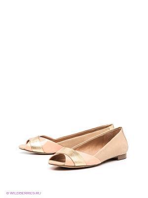 Туфли Jessica Simpson. Цвет: коричневый, золотистый