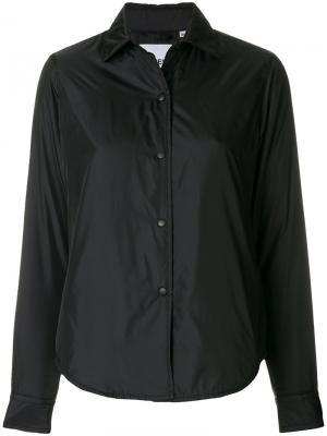 Куртка-рубашка Aspesi. Цвет: черный