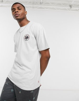 Серая футболка Trippin-Белый Globe