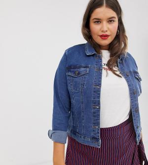 Джинсовая куртка -Синий Vero Moda Curve