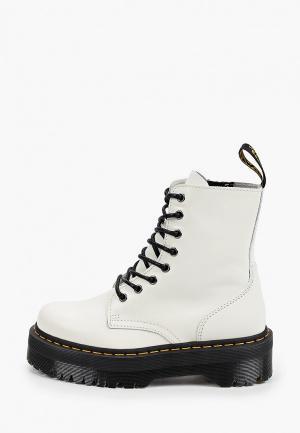 Ботинки Dr. Martens Jadon. Цвет: белый