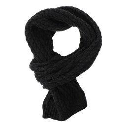 Шарф 6103SH черно-серый CALZETTI