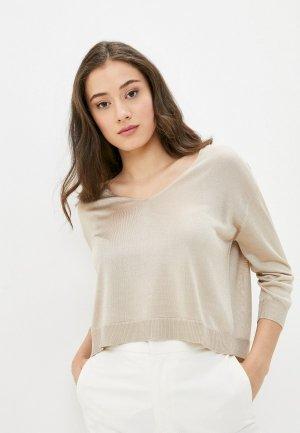 Пуловер Mango - CERITA. Цвет: бежевый