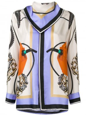 Блузка с большим воротником Each X Other