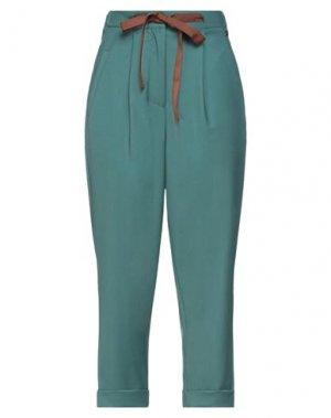 Повседневные брюки DIXIE. Цвет: изумрудно-зеленый