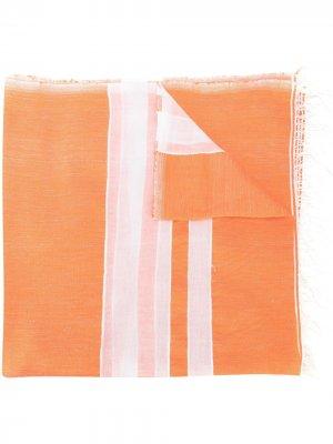 Платок Zoya lemlem. Цвет: оранжевый