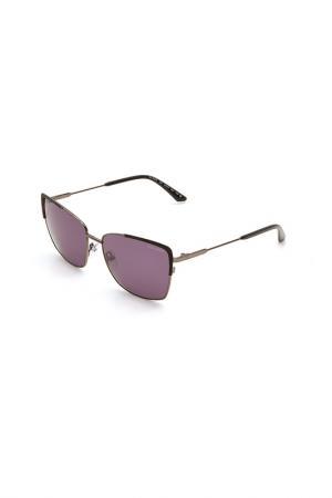 Очки солнцезащитные Guy Laroche. Цвет: 103 серый металлик, черный мат