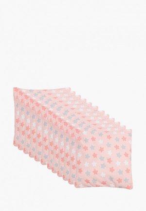 Бортик для детской кровати Sweet baby. Цвет: розовый