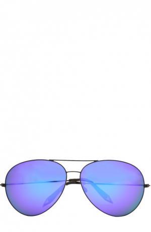Очки солнцезащитные Victoria Beckham. Цвет: бесцветный