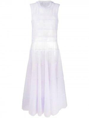 Вечернее платье Fading Beauty Viktor & Rolf. Цвет: фиолетовый