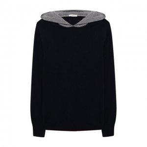 Пуловер с капюшоном Paolo Pecora Milano. Цвет: разноцветный