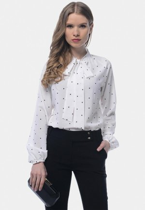 Блуза Arefeva. Цвет: белый