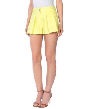 Повседневные шорты LORELLA SIGNORINO. Цвет: желтый
