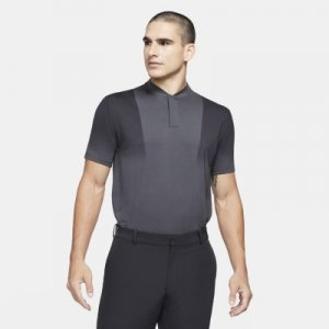 Мужская рубашка-поло с принтом для гольфа Dri-FIT Tiger Woods - Серый Nike
