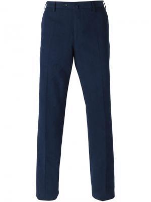 Классические брюки Loro Piana. Цвет: синий