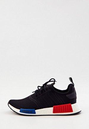 Кроссовки adidas Originals NMD_R1. Цвет: черный